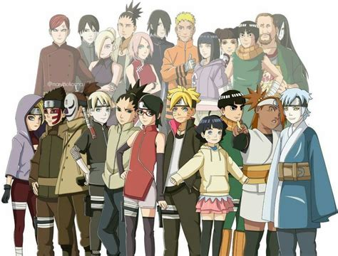 boruto characters 338 best images about boruto next generations on