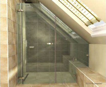 Sloped Ceiling Shower by 14 Best Images About Sloped Shower On Slanted