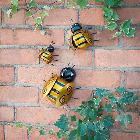 Bumble Bee Wall Art Garden Decorations Garden Wall Ornaments Uk