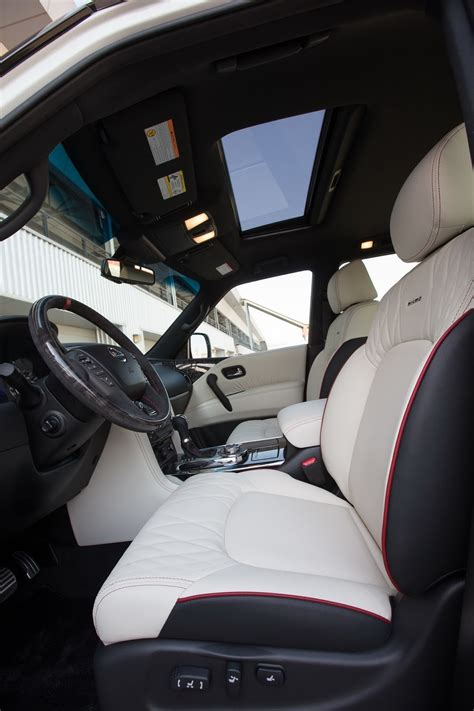 nissan patrol nismo interior nissan patrol gets the nismo touch forcegt com