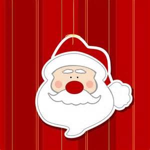 Santa Claus Decoration Clipart Santa Head Ornament