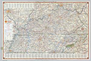 map kentucky and tennessee kentucky tennessee map map