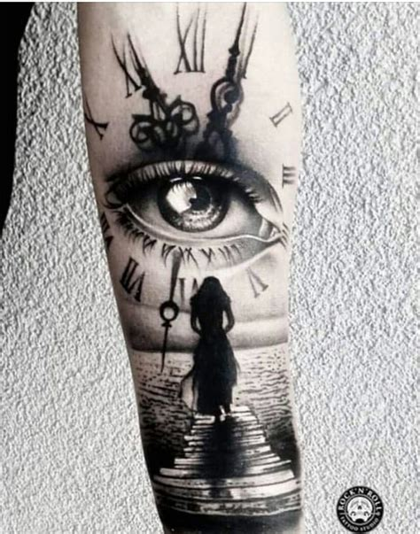 tattoo fixers eye clock best 25 clock tattoos ideas on pinterest time piece