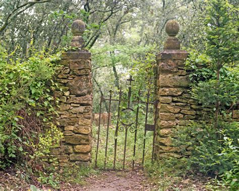 altes gartentor wrought iron gate secret garden path by miriamhamsa