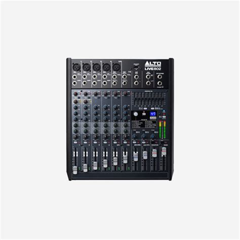 Mixer Alto Live 802 buy alto professional live series mixer live 802 dubai uae adawliah electronic appliances