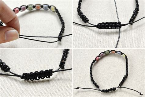 how to end a beaded bracelet how to make a simple friendship bracelet with letters