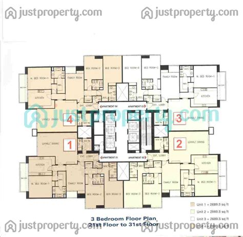 tower floor plans tamweel tower floor plans justproperty com