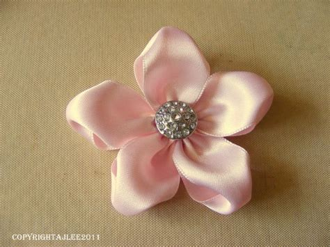 How To Make Flowers Out Of Paper Ribbon - 389 best embroidery ribbon flower images on
