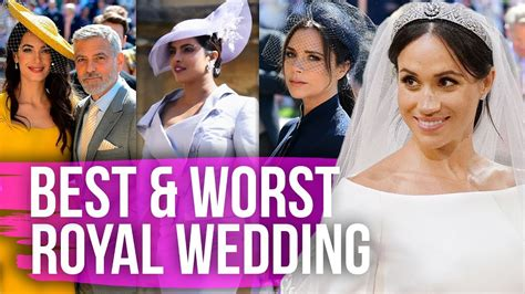 celebrity dirty laundry the royals best worst dressed celebs at the royal wedding dirty