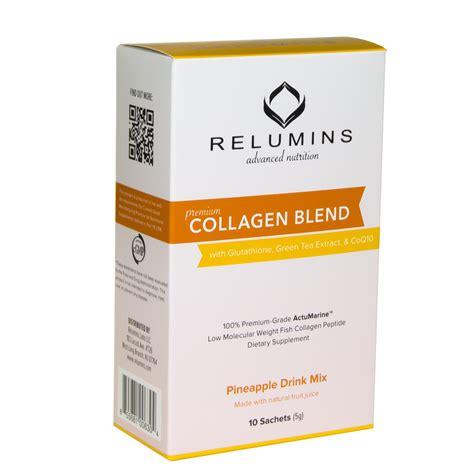 Collagen Tea relumins premium collagen blend 100 premium grade