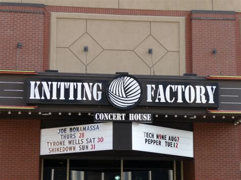 knitting factory capacity knitting factory concert house house plan 2017