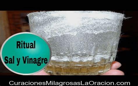 vinagre sal ritual de la sal y el vinagre quot eliminar energ 237 as negativas