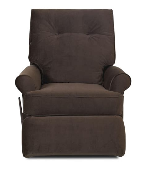 klaussner clearwater transitional swivel rocking reclining
