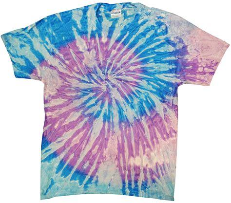 lavender blue tie dye t shirt