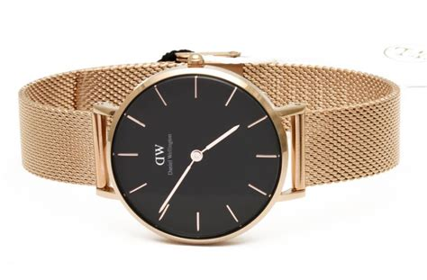 Ck Ck090 Rosegold Black 1 daniel wellington authentic classic gold dw00100161 7350068245206 ebay