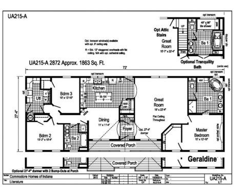 commodore geraldine floor plans valley homes