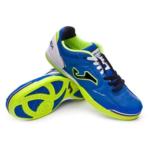 zapatillas joma futbol sala zapatilla joma top flex blue black green soloporteros es