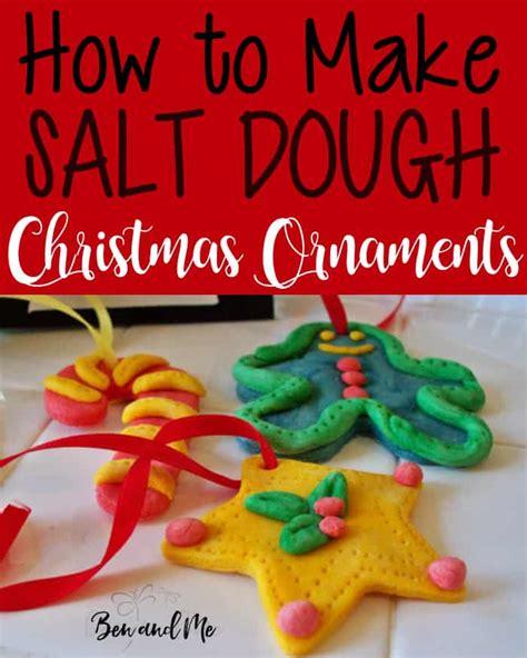 salt dough ornaments ben