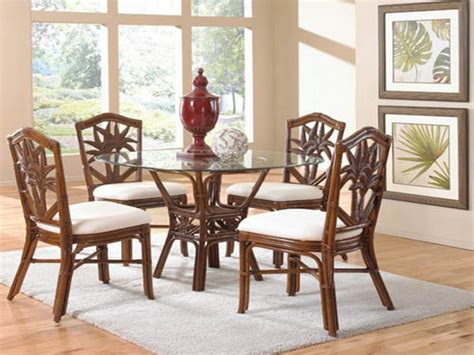 Bamboo Dining Room Set by Rattan Dining Room Furniture Wicker Rattan Dining Room