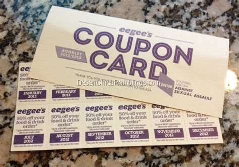 eegees coupon book
