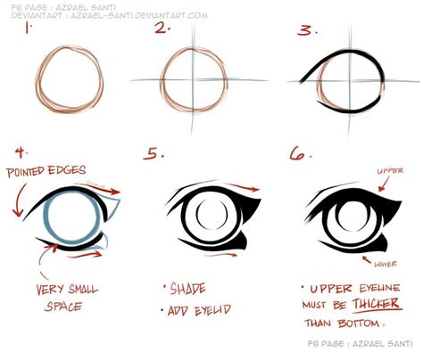 how to draw anime tutorial by azrael on deviantart