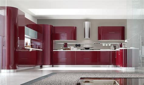 imagenes de cocinas integrales rojas cocinas modernas en varios colores ideas para decorar