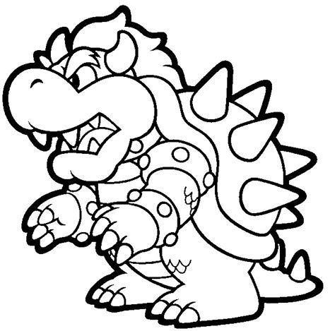 giant mario coloring pages google coloriage bowser