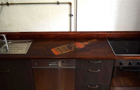 küche tiefe arbeitsplatte wohnzimmer ideen riemchen