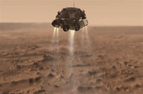 mars rover landing date pics about space