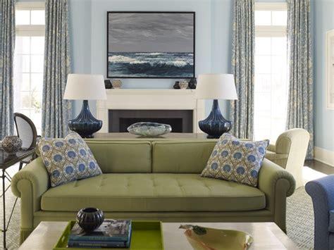 painting  living room light blue emily  clark