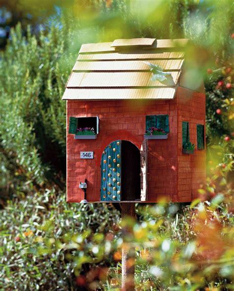 cassetta della posta idee fai da te per arredare il giardino con oggetti