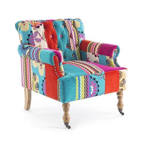 poltrone colorate poltrona colorata quot patchwork quot divani e poltrone provenzali