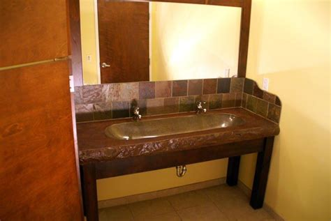 Dual Faucet Trough Sink by Faucet Trough Sink Bathroom