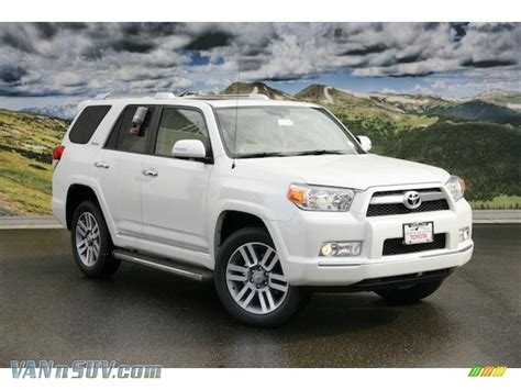 2011 Toyota 4runner Limited 2011 Toyota 4runner Limited 4x4 In Blizzard White Pearl