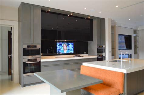 kitchen splashback tv hide my tv