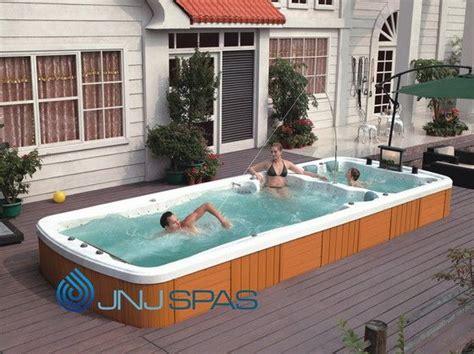 lap pool in small backyard google search screened hot swim spa decks google search deck pinterest spa