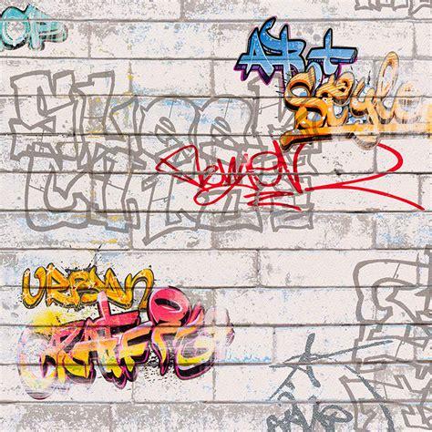 wallpaper that looks like graffiti white graffiti wallpaper rolls a s creation 93561 1