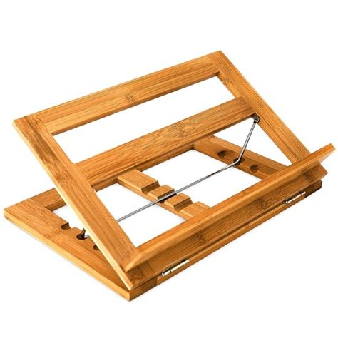 reggilibro da letto bol relaxdays boekenstandaard boekensteun bamboe