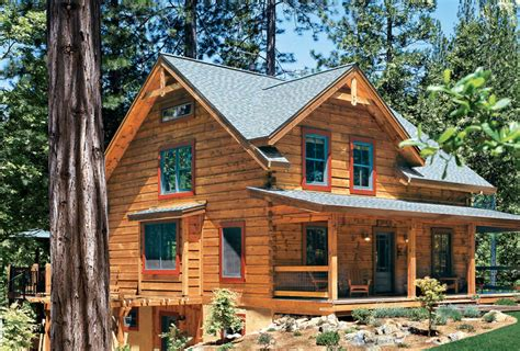 log home style siding different types of cabins
