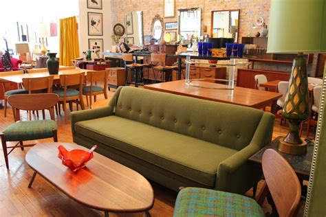 Upholstery In Chicago by An Orange Moon Vintage Furniture Shop Turns 5 Years