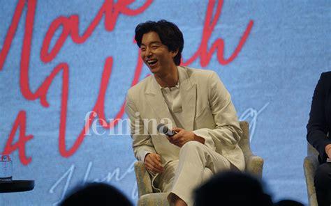 film geostorm bagus tidak eksklusif dari konferensi pers gong yoo di hong kong