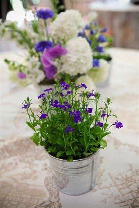 potted paper flower ideas 60 unique ways to use potted plants in your wedding wedding centerpieces wedding