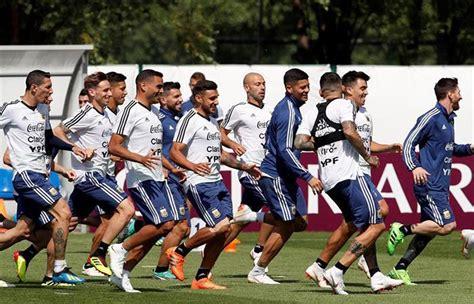 argentina vs croacia los once de todos selecci 243 n