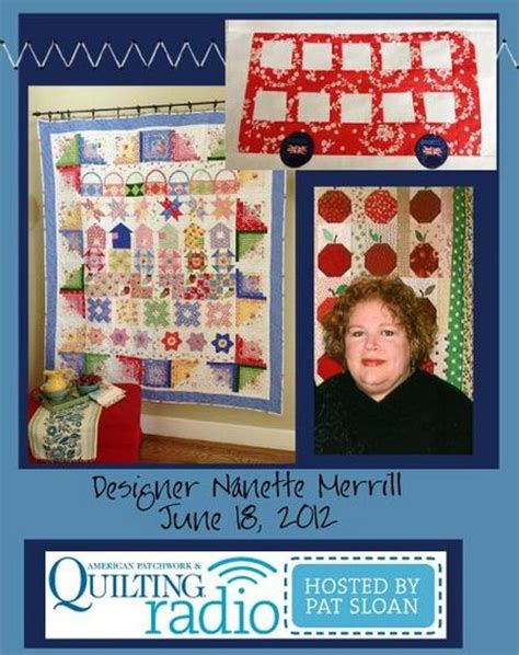 American Patchwork And Quilting Website - pat sloan season 4 american patchwork quilting radio