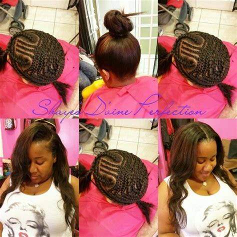 sewin with either side part versitle the 25 best versatile sew in ideas on pinterest natural