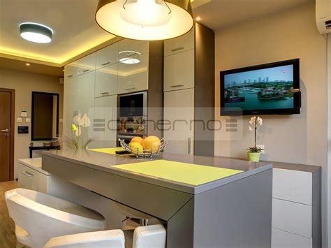 küchen rahmen moderne wohnzimmerdecke mit holz