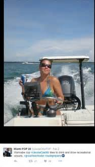 boat driving over boat florida cops take revenge on claudia castillo who pulled