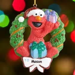 personalized elmo christmas ornament walmart com