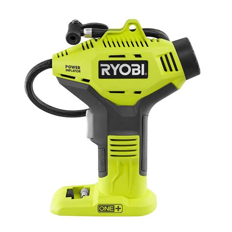 ryobi 18 volt one power inflator tool only p737 the