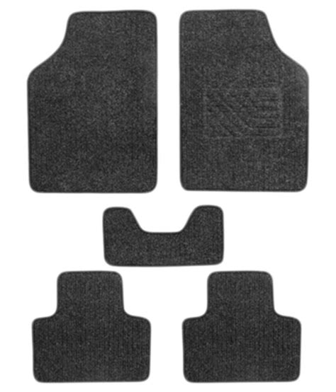 autostark floor mat for maruti new baleno set of 5 black buy autostark floor mat for maruti